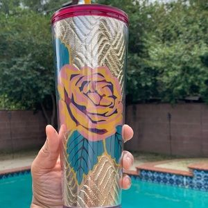 Starbucks Fall 2020 Quilted Rose Tumbler